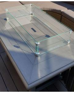 Rectangular Glass Screen Surround