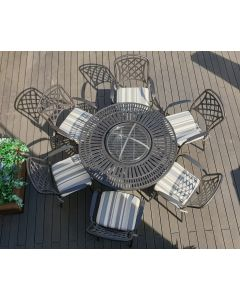 Broxden 6 Compact Wood Burning Firepit Set