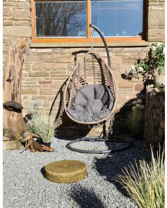 Inca Hanging Egg Chair With Cushion