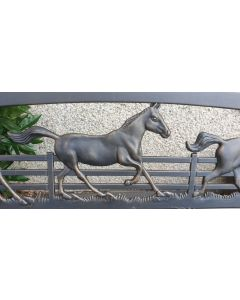 Galloping Horses Bench