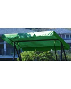 Forest Green 3 Seat Swing Canopy 193x118cm