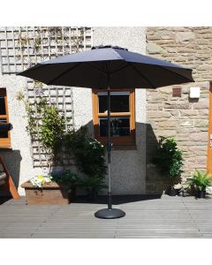 Elite 210cm Parasol - Anthracite