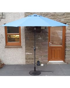 Elite 270cm Parasol - Cornflower Blue