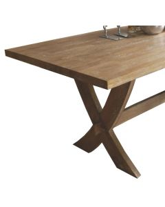 Lodge Dining Table 180x90cm. Natural Oak