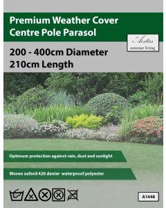 Premium Centre Pole Parasol Weathercover