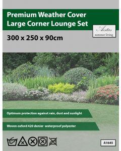 Premium Large Corner Lounge Set Weathercover