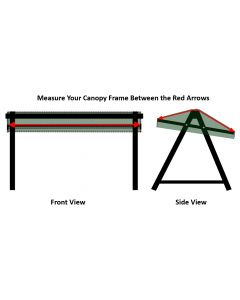 Forest Green 3 Seat Swing Canopy 193x132cm